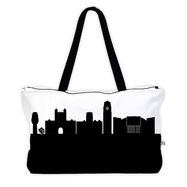 Skyline Weekender Tote - Zipper Closure + Pocket