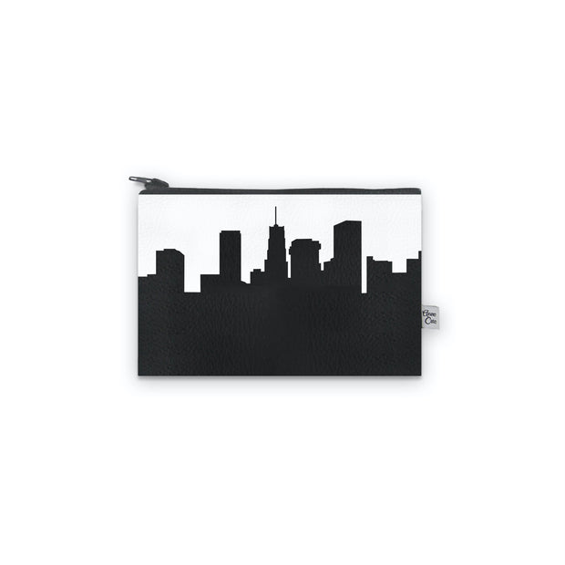 Akron OH Skyline Mini Wallet (Vegan Leather)