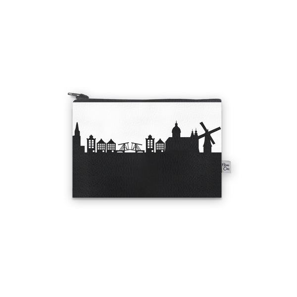 Vegan Leather Skyline Mini Wallet