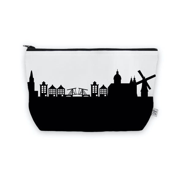 Amsterdam Makeup Cosmetic Bag by Anne Cate