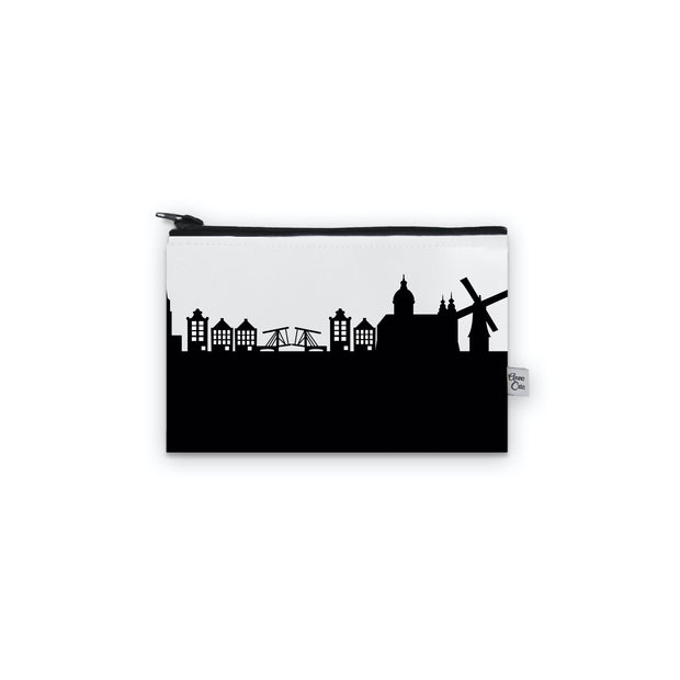Amsterdam Netherlands Skyline Mini Purse