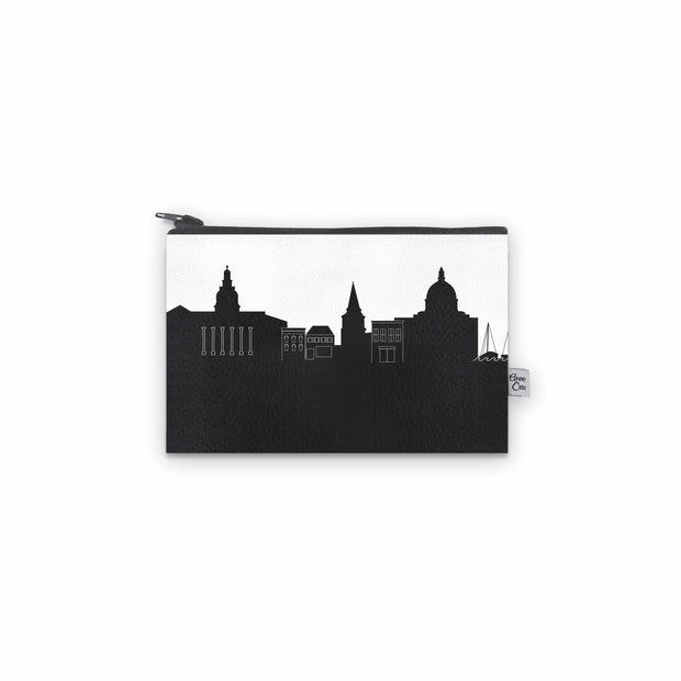 Annapolis MD Skyline Mini Wallet (Vegan Leather)
