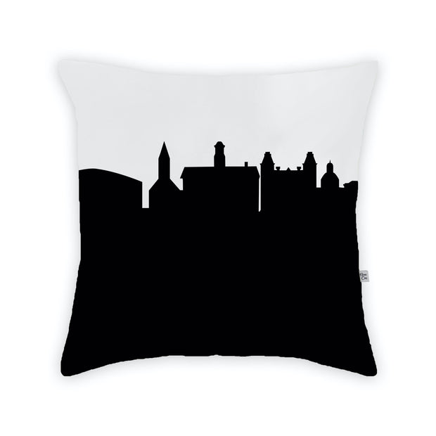 Athens OH Skyline Large Throw Pillow