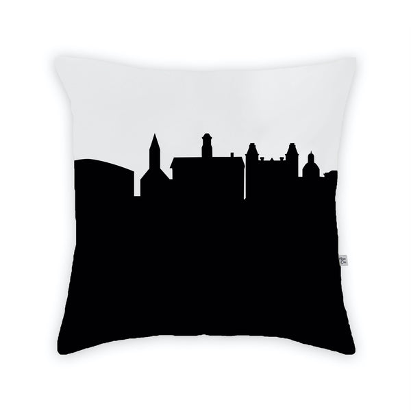 Athens, OH (Ohio University) Large Throw Pillow by Anne Cate