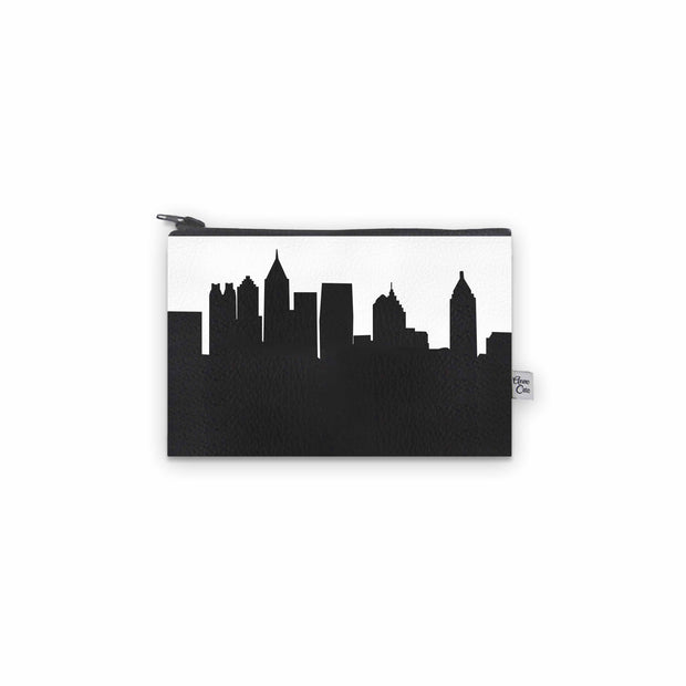Atlanta GA Skyline Mini Wallet (Vegan Leather)