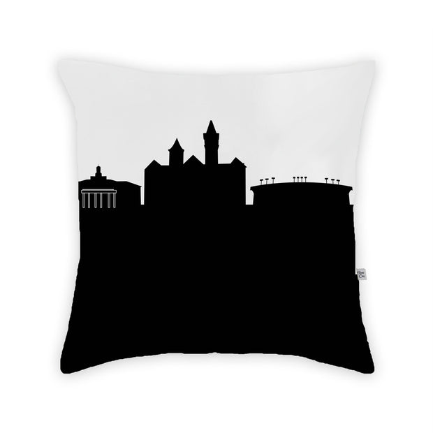 Auburn AL Skyline Large Throw Pillow