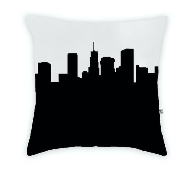Akron OH Skyline Large Throw Pillow