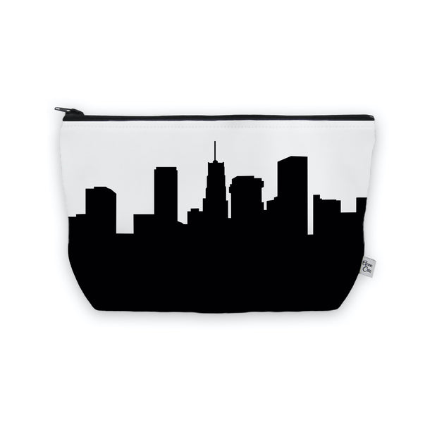 Akron OH Skyline Cosmetic Makeup Bag