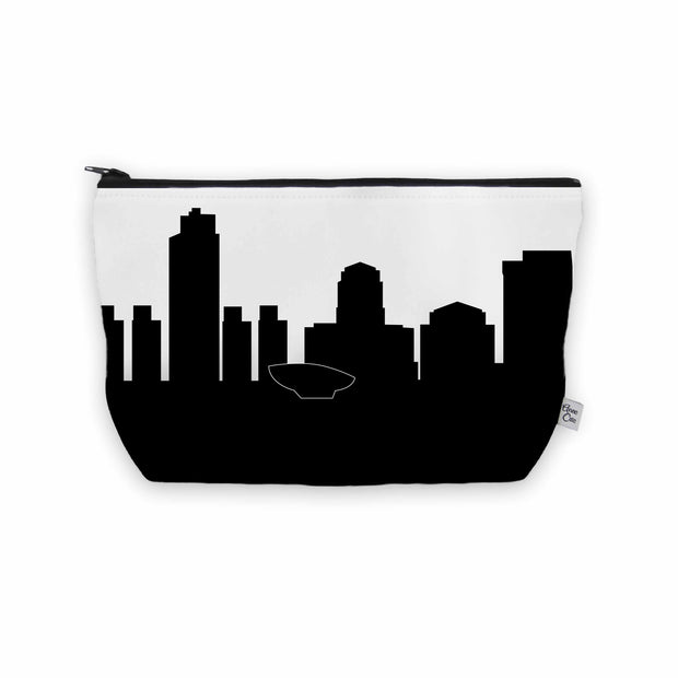 Albany NY Skyline Cosmetic Makeup Bag