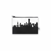 Beijing China Skyline Mini Wallet (Vegan Leather)