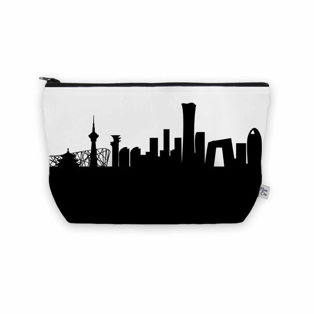 Beijing China Skyline Cosmetic Makeup Bag