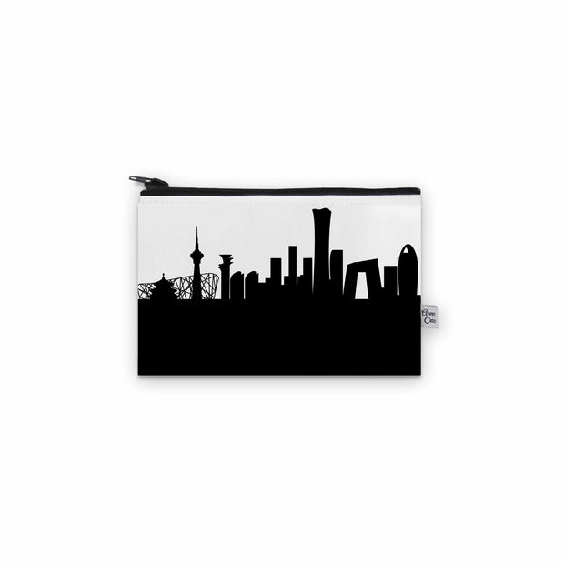 Beijing China Skyline Mini Purse