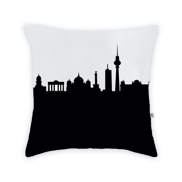 Berlin Germany Skyline Large Throw Pillow