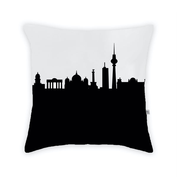 Berlin Large Throw Pillow by Anne Cate