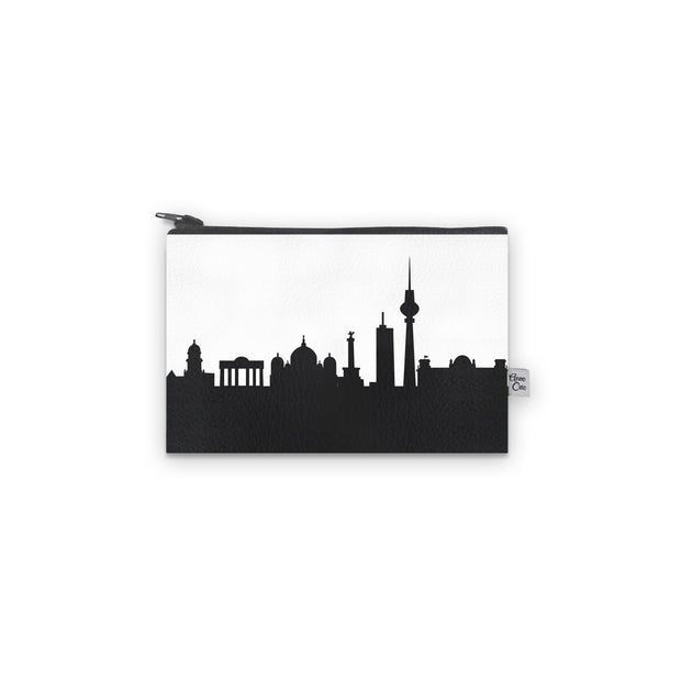 Berlin Germany Skyline Mini Wallet (Vegan Leather)