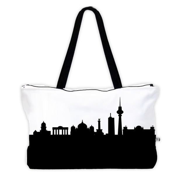 Berlin Germany Skyline Weekender Tote