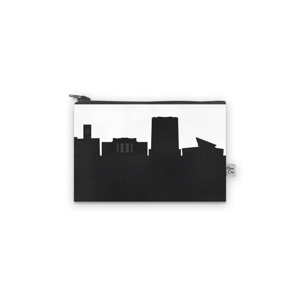 Bowling Green OH Skyline Mini Wallet (Vegan Leather)