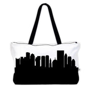 Boston MA Skyline Weekender Tote