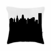 Buffalo NY Skyline Large Throw Pillow