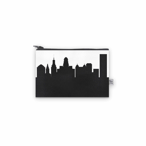 Buffalo NY Skyline Mini Wallet (Vegan Leather)
