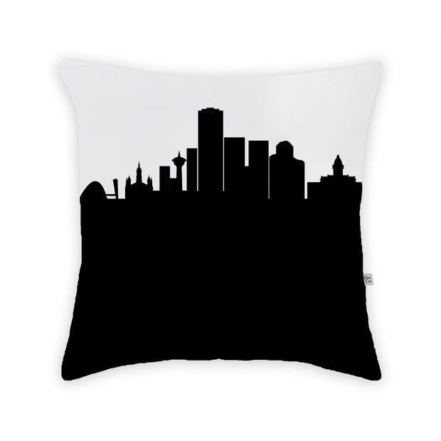 Belo Horizonte Brazil Skyline Large Throw Pillow