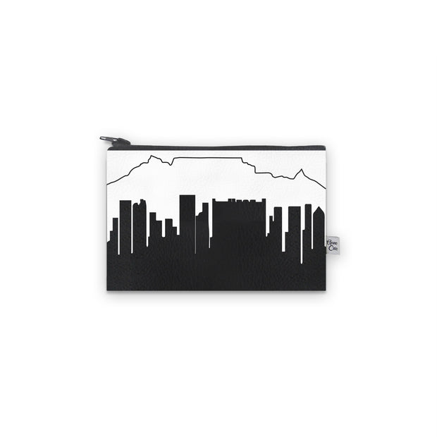Cape Town Africa Skyline Mini Wallet (Vegan Leather)
