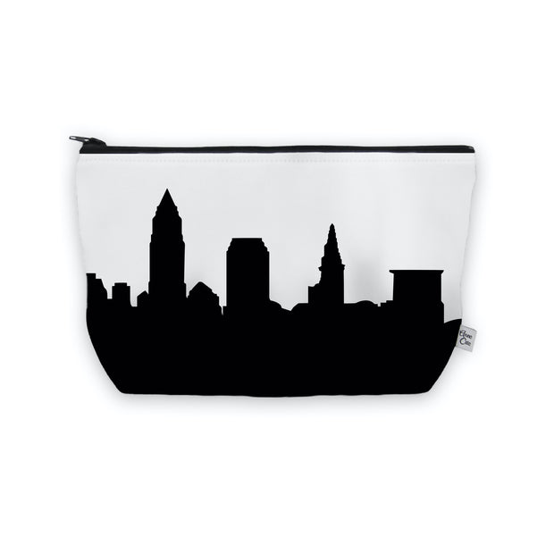 Cleveland OH Skyline Cosmetic Makeup Bag