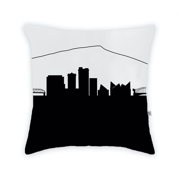 Skyline Large Throw Pillow