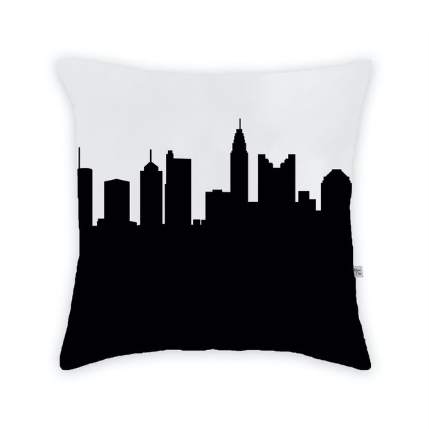 Columbus OH Skyline Large Throw Pillow