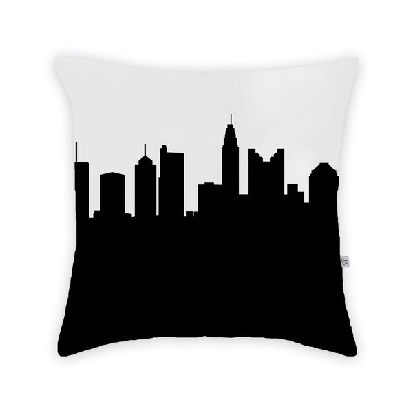 Columbus Large Throw Pillow by Anne Cate