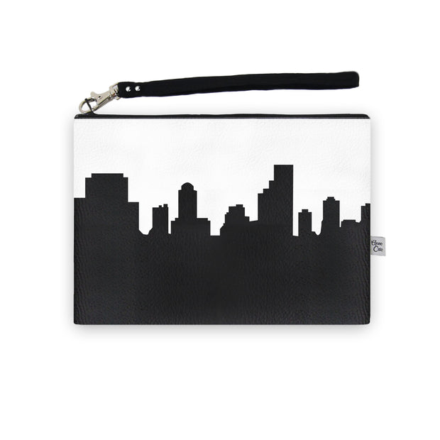 Columbia SC Skyline Wristlet Clutch (Vegan Leather)