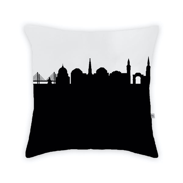 Copenhagen Large Throw Pillow by Anne Cate