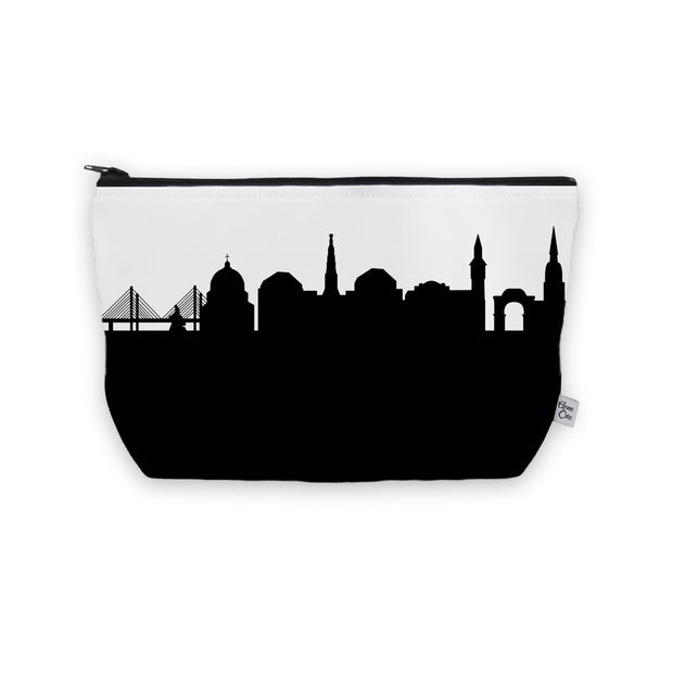Copenhagen Denmark Skyline Cosmetic Makeup Bag