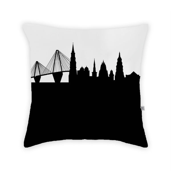 Charleston Large Throw Pillow by Anne Cate
