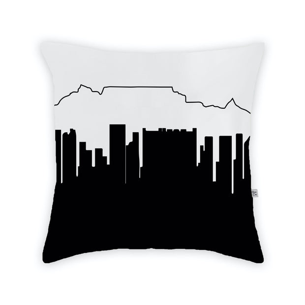 Cape Town Africa Skyline Large Throw Pillow