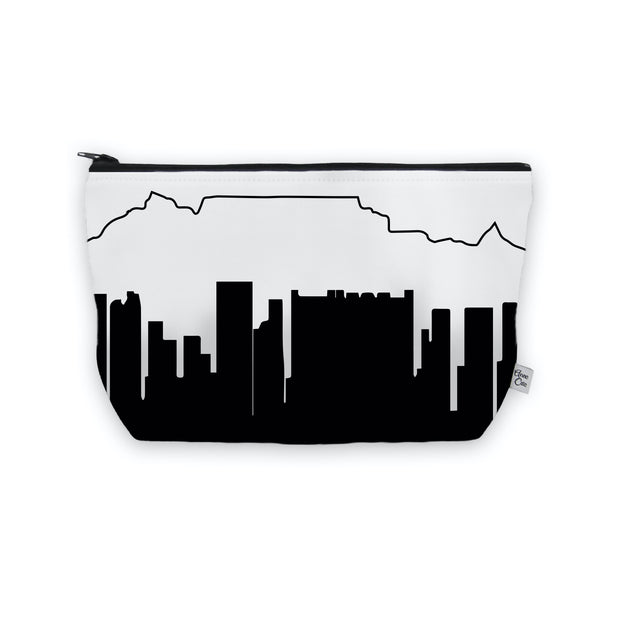 Cape Town Africa Skyline Cosmetic Makeup Bag