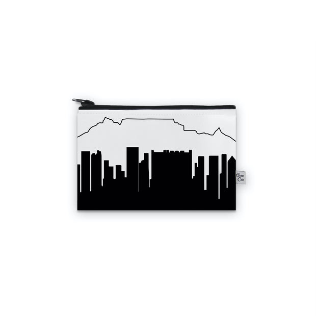 Cape Town Africa Skyline Mini Purse