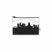 Charleston WV Skyline Mini Wallet (Vegan Leather)