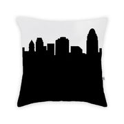 Cincinnati OH Skyline Large Throw Pillow
