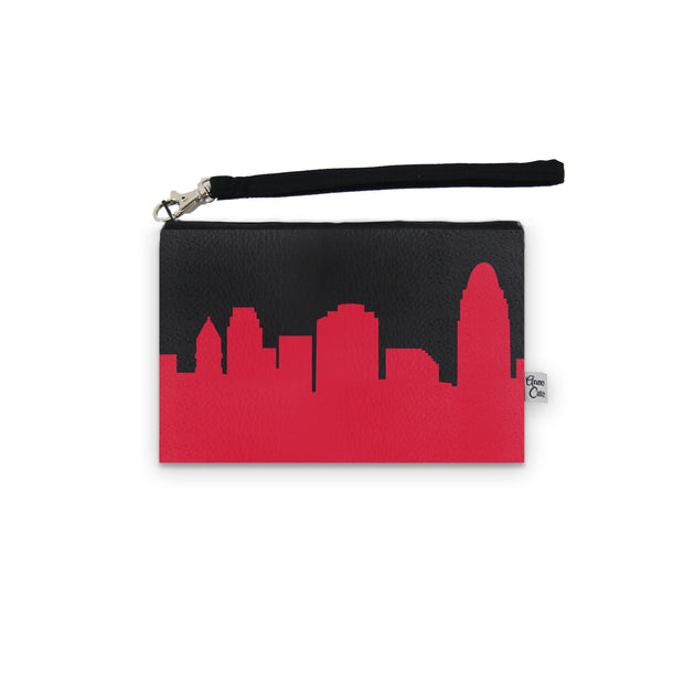 Cincinnati OH Game Day Wristlet - Stadium Approved - CUSTOMIZE IT!