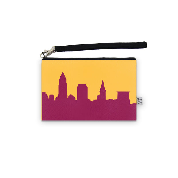 Cleveland OH Game Day Wristlet - Stadium Approved - CUSTOMIZE IT! 1