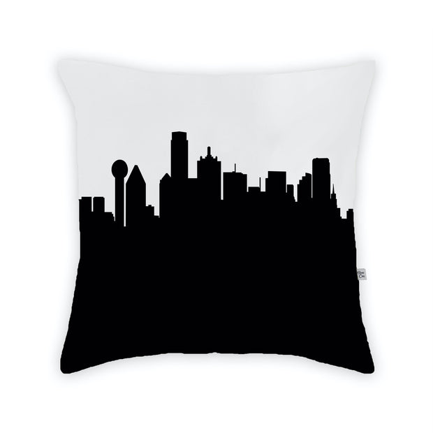 Dallas TX Skyline Large Throw Pillow