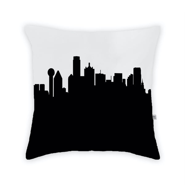 Dallas Large Throw Pillow by Anne Cate