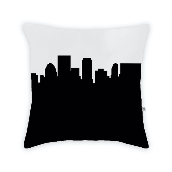 Dayton Large Throw Pillow by Anne Cate