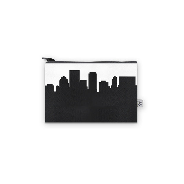 Dayton OH Skyline Mini Wallet (Vegan Leather)