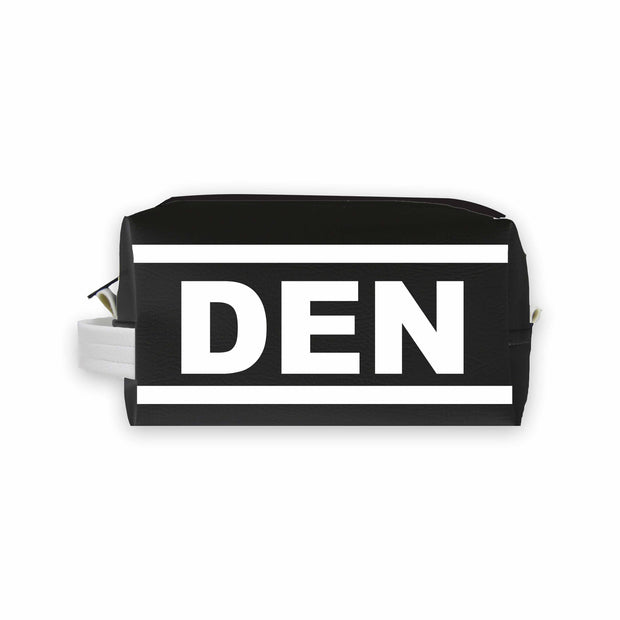 DEN (Denver) Travel Dopp Kit Toiletry Bag