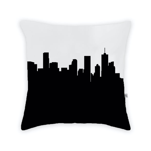 Denver CO Skyline Large Throw Pillow
