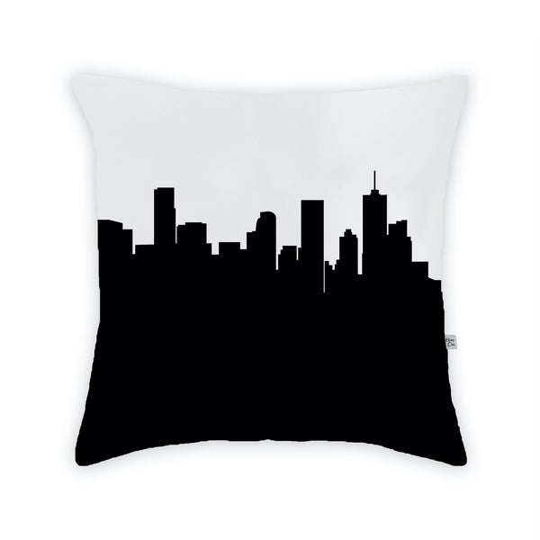 Denver Large Throw Pillow by Anne Cate