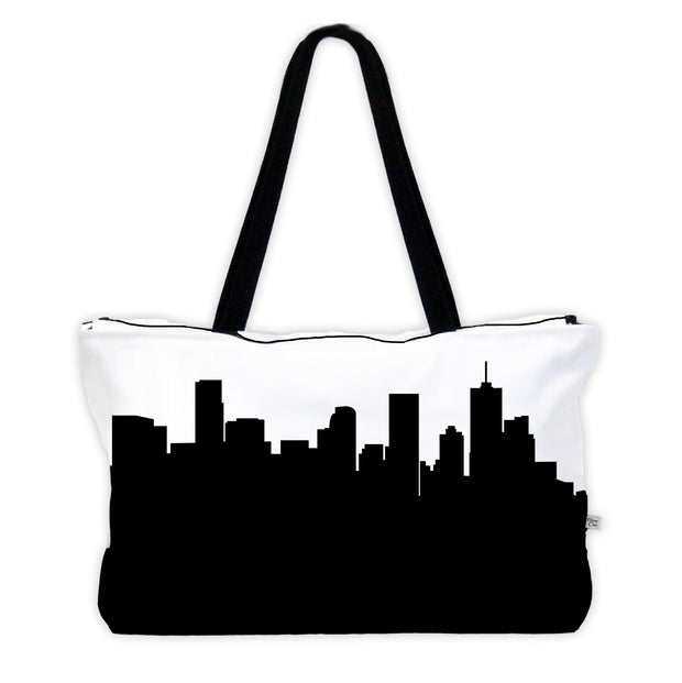 Denver CO Skyline Weekender Tote