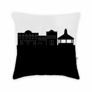 Willoughby OH Skyline Large Throw Pillow
